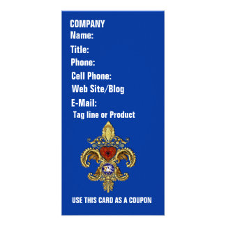 Louisiana Business  Card Photo Vertical Picture Card