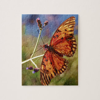 Louisiana Butterfly Jigsaw Puzzle