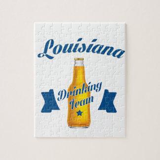 Louisiana Drinking team Jigsaw Puzzle