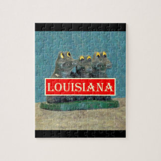 Louisiana Gators Painting 1.jpg Jigsaw Puzzle