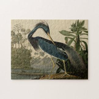 Louisiana Heron Jigsaw Puzzle