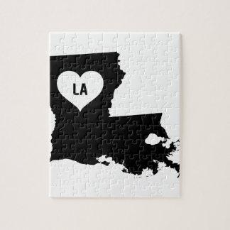 Louisiana Love Jigsaw Puzzle