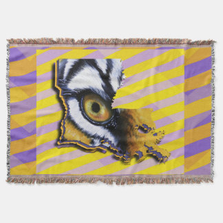 Louisiana purple and gold Eye of the Tiger