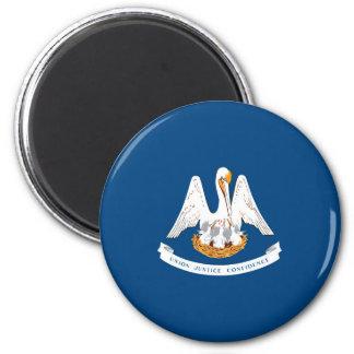 Louisiana State Flag Design Magnet