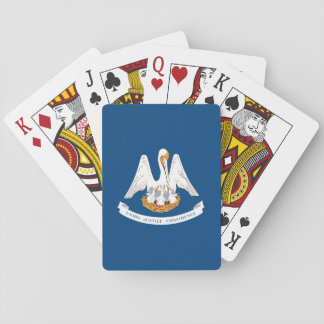 Louisiana State Flag Design Playing Cards