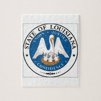 Louisiana State Seal Jigsaw Puzzle