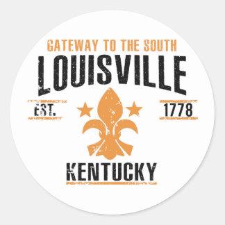 Louisville Classic Round Sticker