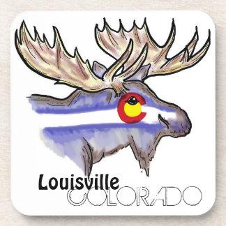 Louisville Colorado artistic elk drink coasters