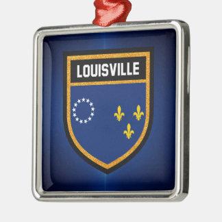 Louisville Flag Christmas Ornament