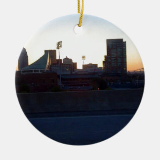 """LOUISVILLE, KENTUCKY CITY SKYLIN""E SCENE"" CHRISTMAS ORNAMENT"
