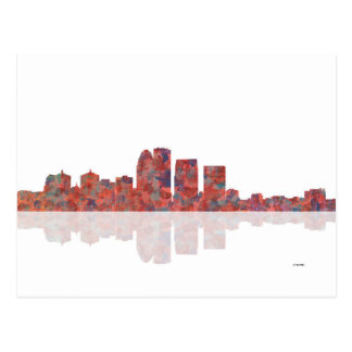 Louisville Kentucky Skyline Postcard