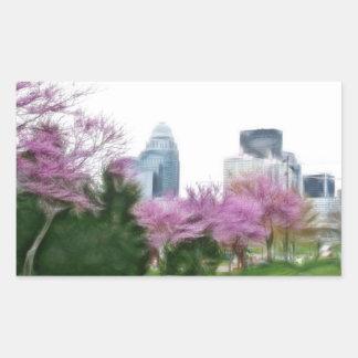 Louisville Ky Rectangular Sticker