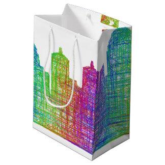 Louisville skyline medium gift bag
