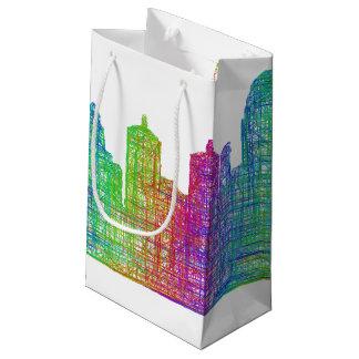 Louisville skyline small gift bag