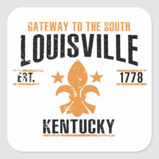 Louisville Square Sticker