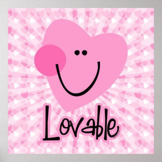 Lovable Heart Print