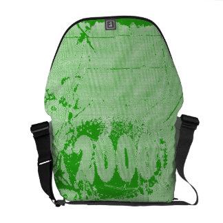 Love 2000 - Green vintage retro - Messenger Bags