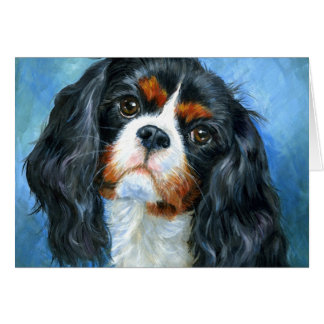 Love A Cavalier King Charles Spaniel Greeting Card