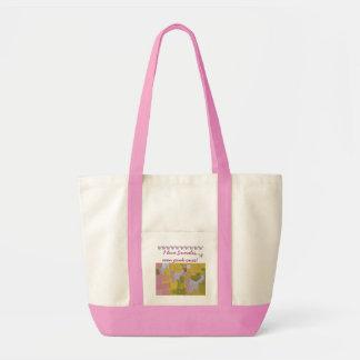 Love a Pink Somali Cat Impulse Tote Bag