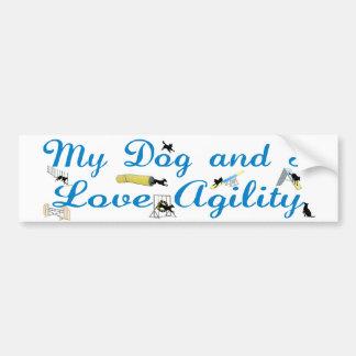 Love Agility Bumper Sticker