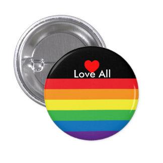 Love All Rainbow Pin