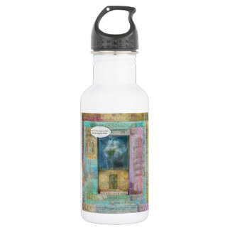 Love all, trust a few, do wrong to none 532 ml water bottle