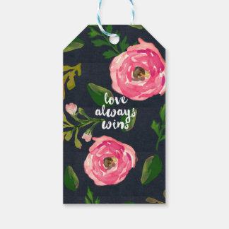 Love Always Wins / Denim Fleur Gift Tags