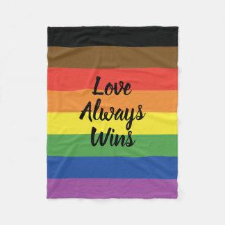 Love Always Wins Pride Blanket