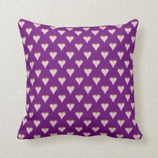 LOVE AND HEARTS PILLOW