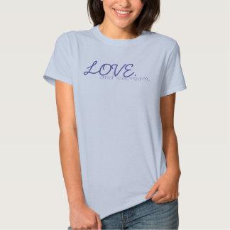 LOVE. and ice-cream. T-shirt
