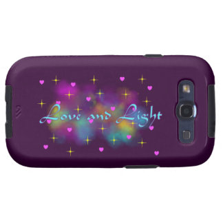 Love and light case galaxy SIII covers
