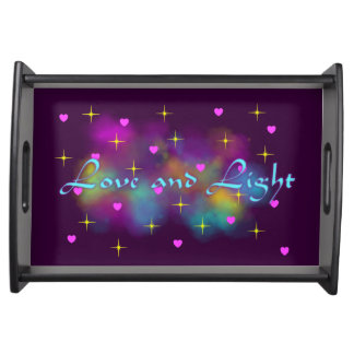 Love and Light Service Tray
