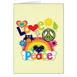 Love and Peace Baby Note Card