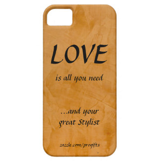 Love And Your Great Stylist iPhone 5 Case