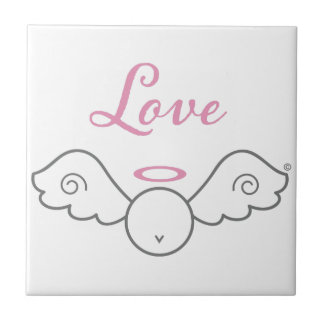 Love Angel Ceramic Tile