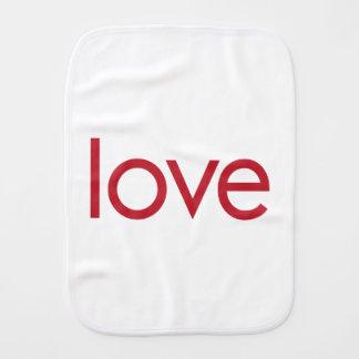 Love Baby Burp Cloth