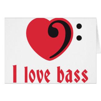 love bass card