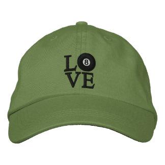LOVE Billiards Embroidered Hat