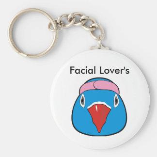 Love bird with headband key ring