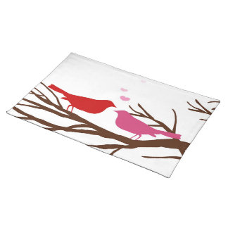 LOVE BIRDS American MoJo Placemat