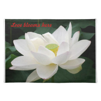 Love Blooms Here American MoJo Placemat