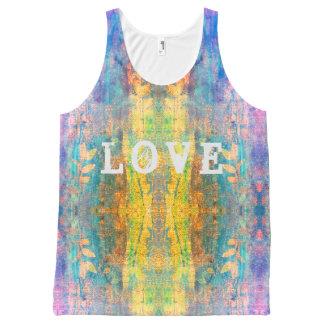 love boho design All-Over print singlet
