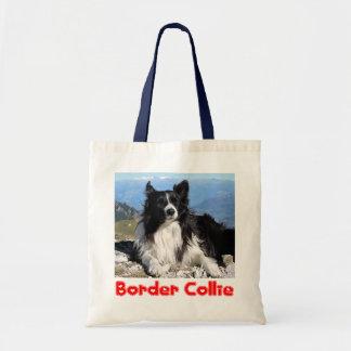 Love Border Collie Puppy Dog Tote Bag