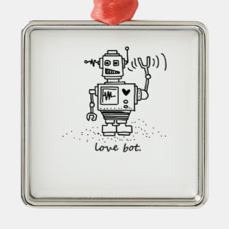 love bot christmas ornament