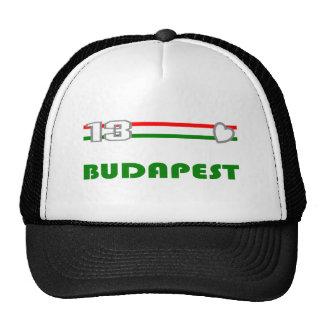 Love Budapest 2013 Baseball Cap