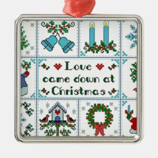 Love came down at Christmas Christmas Ornament