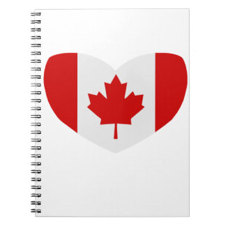 Love Canada Notebook
