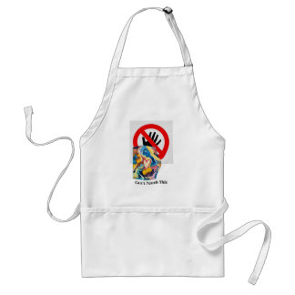 Love Can't Touch This Standard Apron