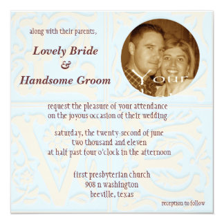 LOVE card Customizable Photo Invitation Wedding