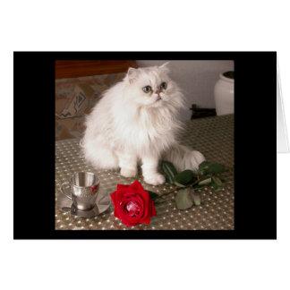 Love Cat II Card - Customizable Cards
